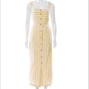 NWT Rachel Zoe linen midi dress